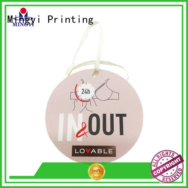 Mingyi Printing garment tags manufacturers