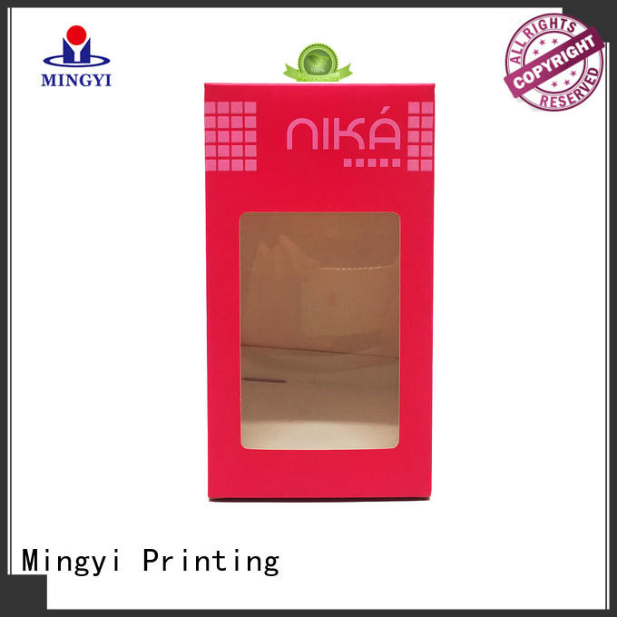 Mingyi Printing Brand eva windows luxury packaging boxes base factory