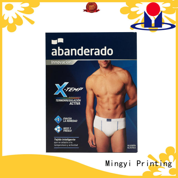Mingyi Printing cosmetic box packaging Suppliers for gift