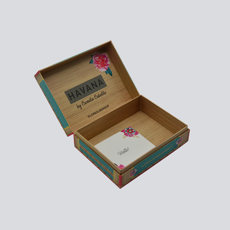 Mingyi Printing Wooden style packaging for cosmetics/luxury products Cardboard Gift Box image12