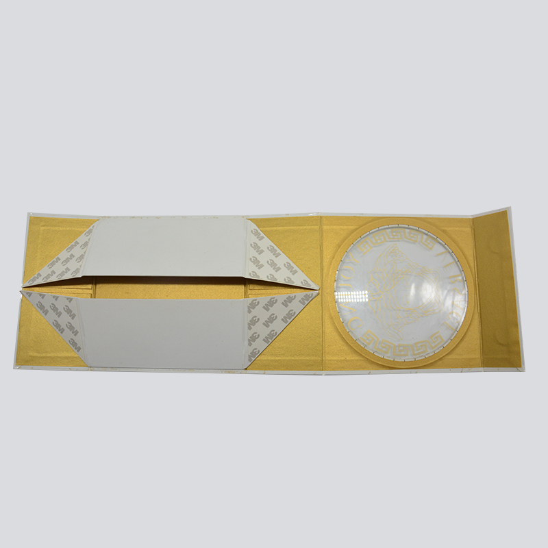 Mingyi Printing Foldable gift box for luxury cosmetic with PVC window Cardboard Gift Box image10