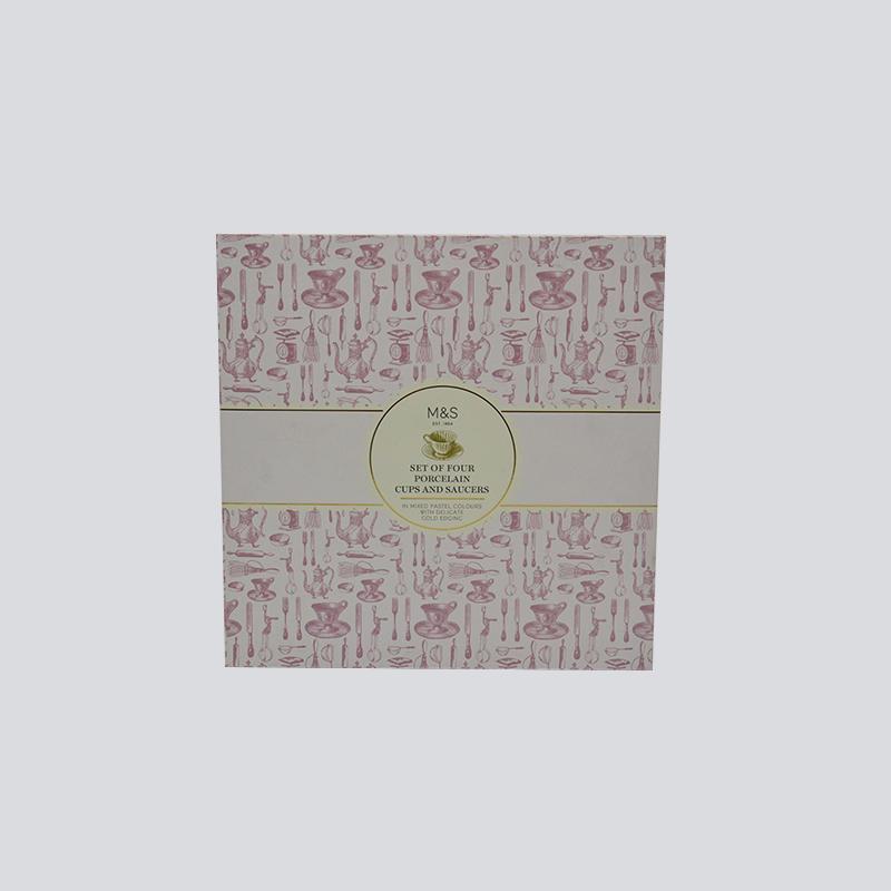 Cosmetics Lid and Base Gift Box