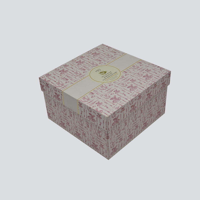 Cosmetics Lid and Base Gift Box