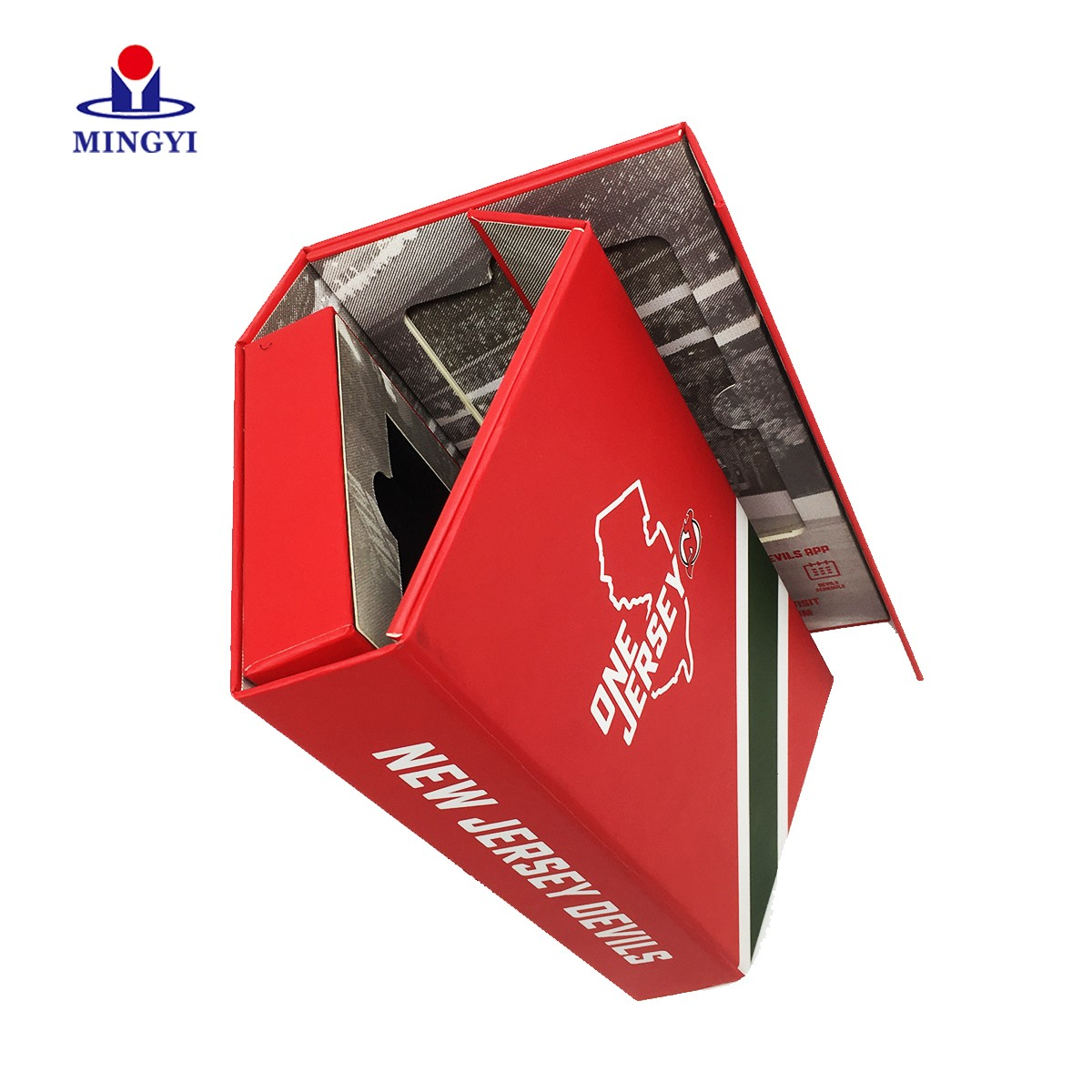 product-Book shaped gift box magnetic closure for watch-Mingyi Printing-img