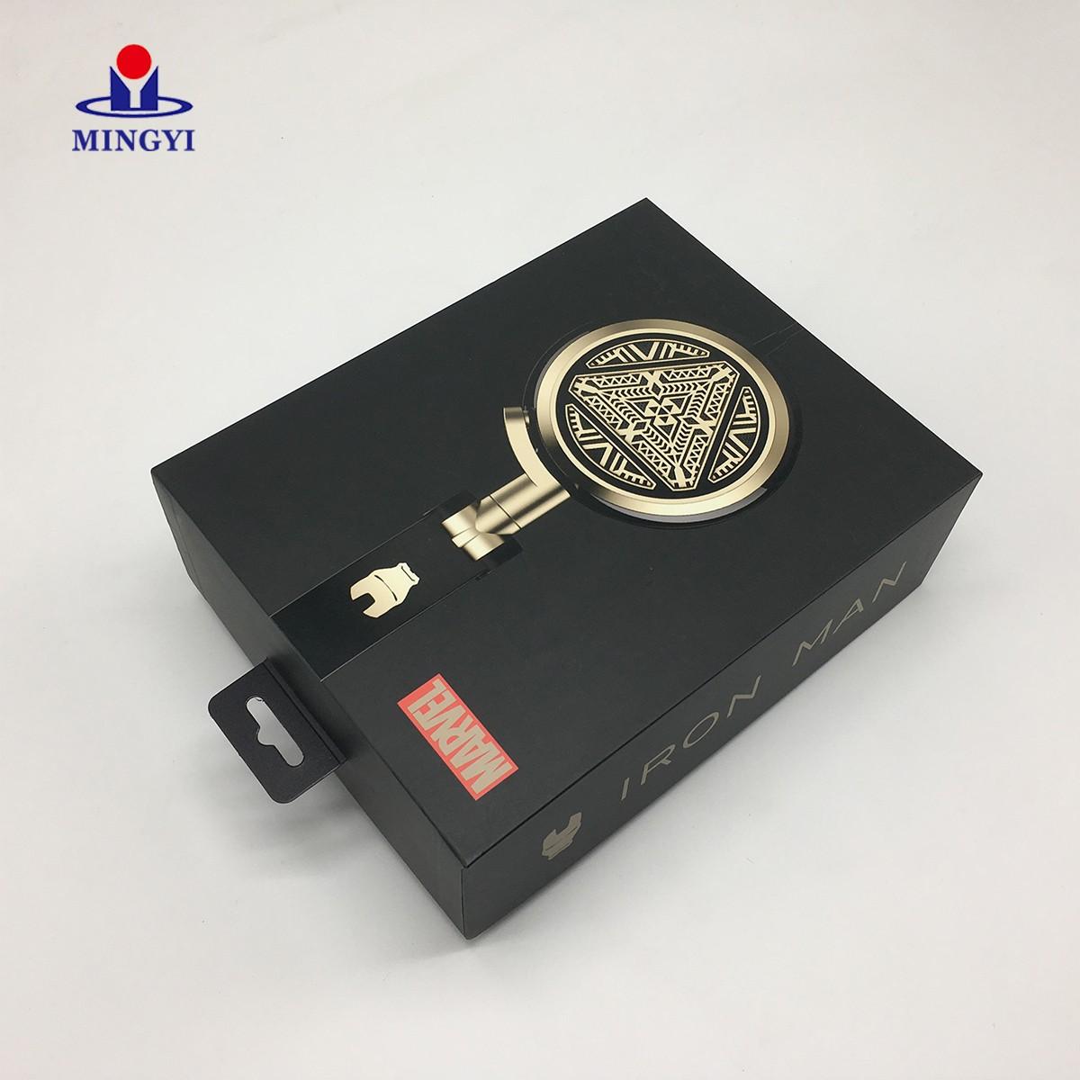 news-Mingyi Printing-New custom design Iron man style headphones packaging box-img-2