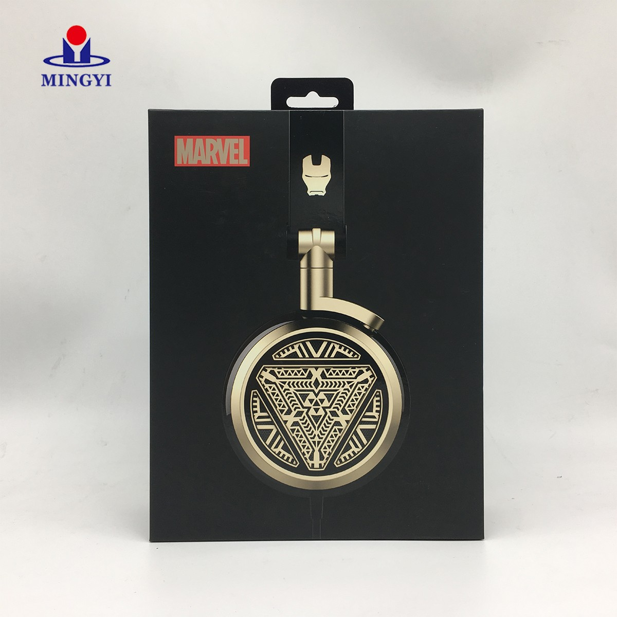 news-Mingyi Printing-New custom design Iron man style headphones packaging box-img-3