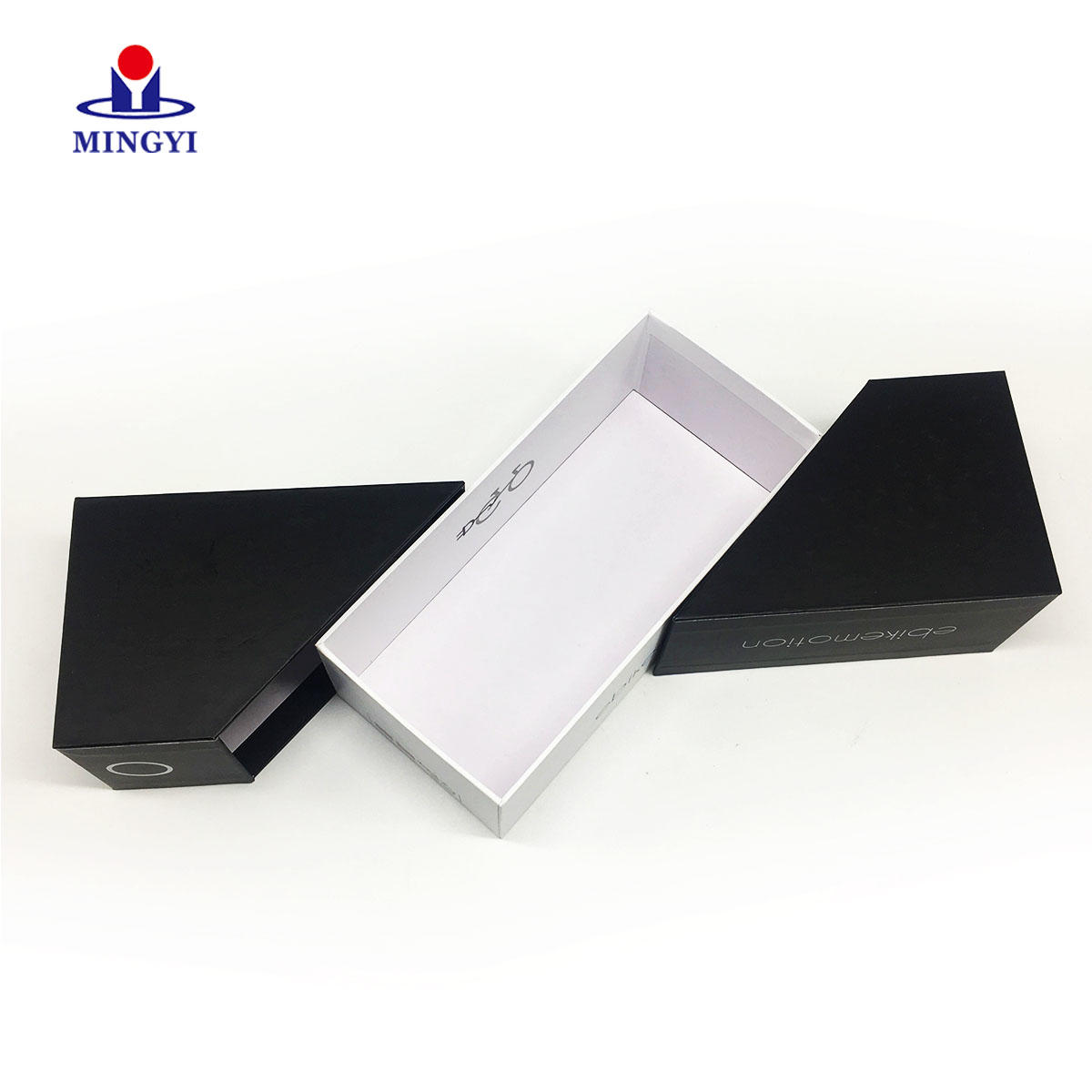 New design creative cardboard gift box with double lid