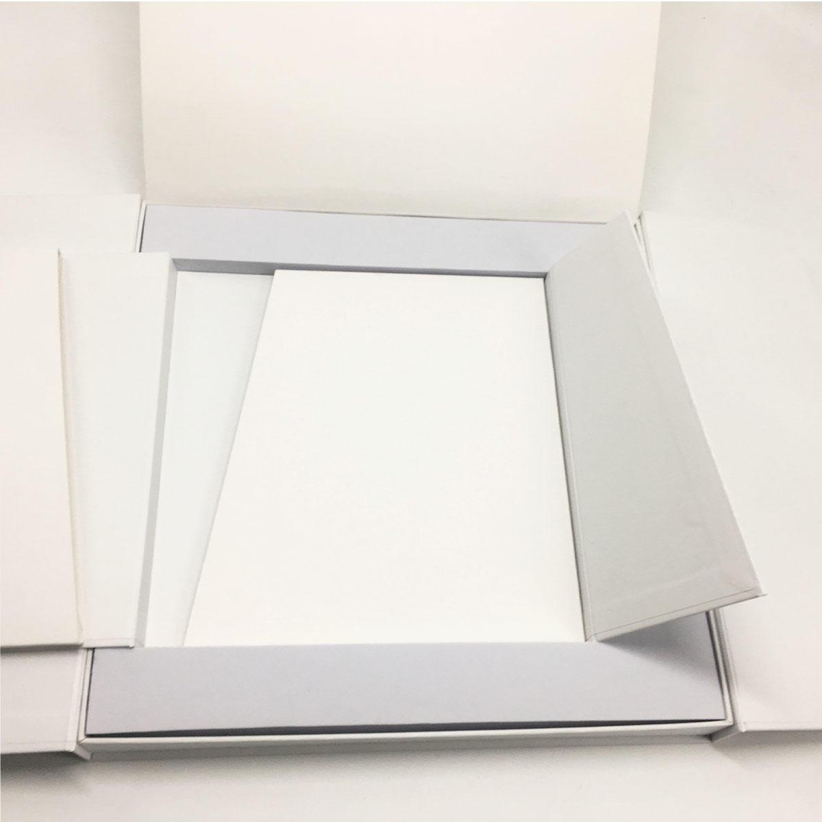 Creative folding flat pack branding packaging
