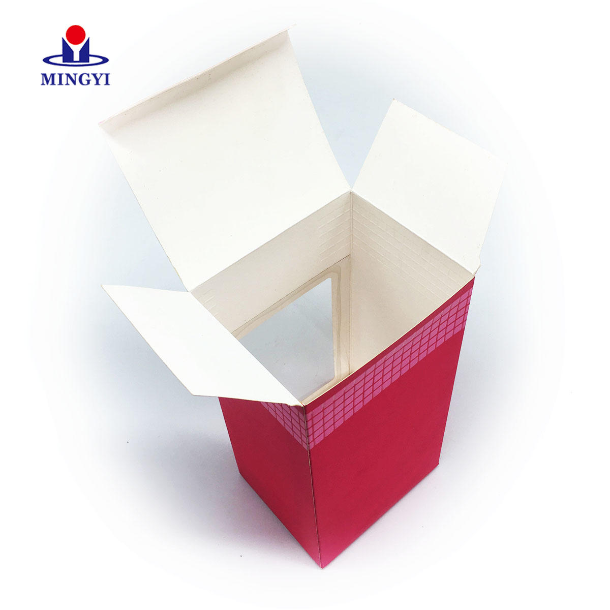 Customized cosmetic color paper gift packaging box