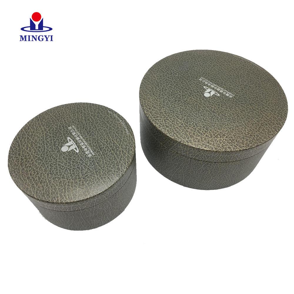 Mingyi design customiezd logo circle cardboard  Packaging with lid