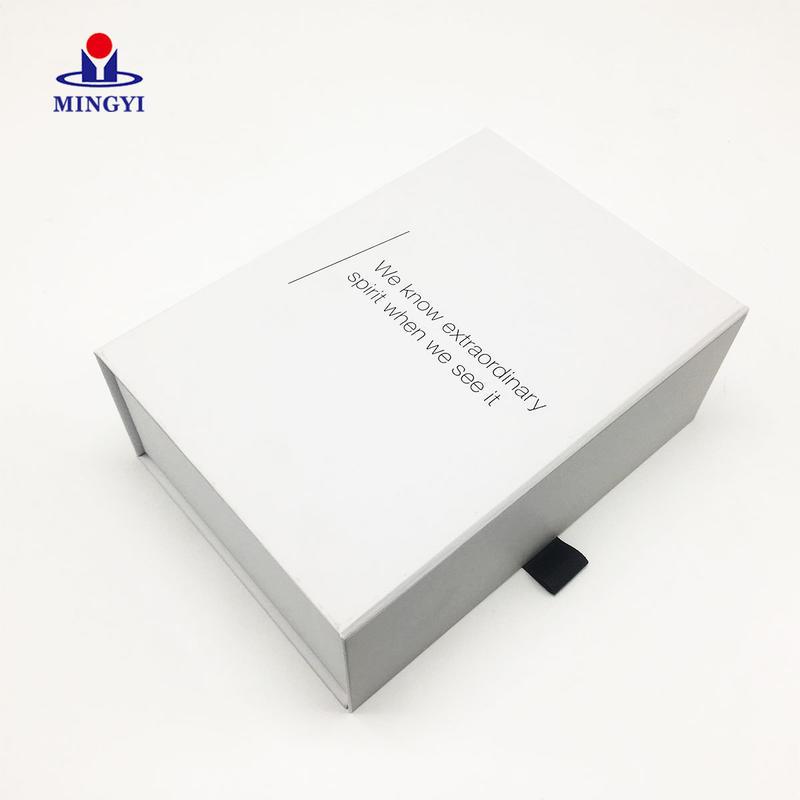 New customiezd wine bottle paper gift packaging box with foam