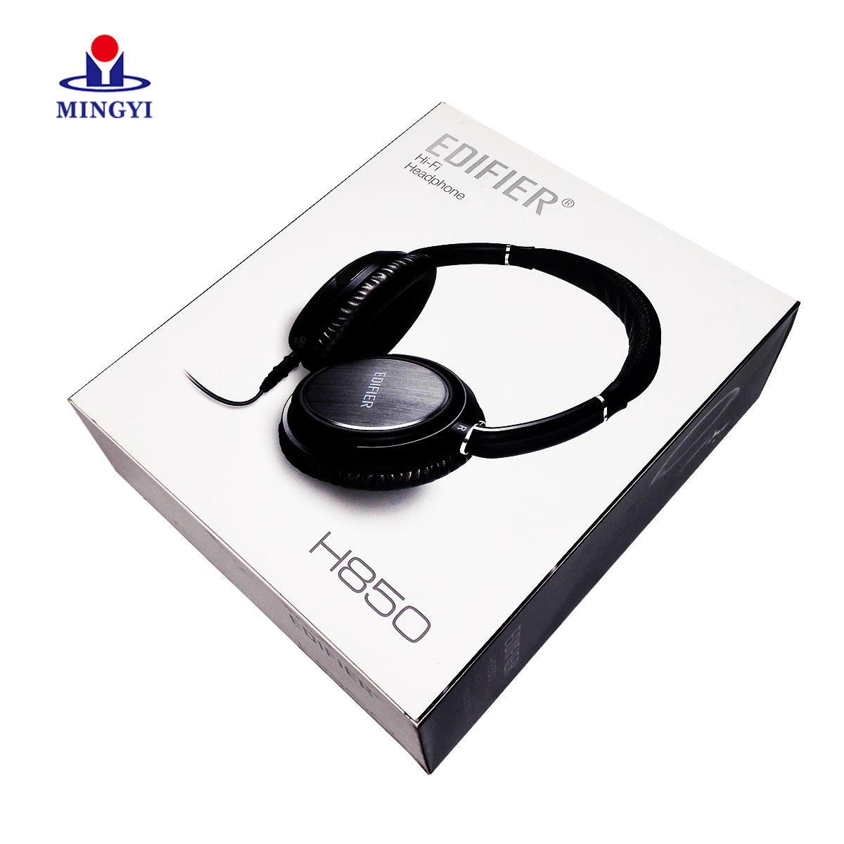 Luxury custom cardboard earphone packaging with hook
