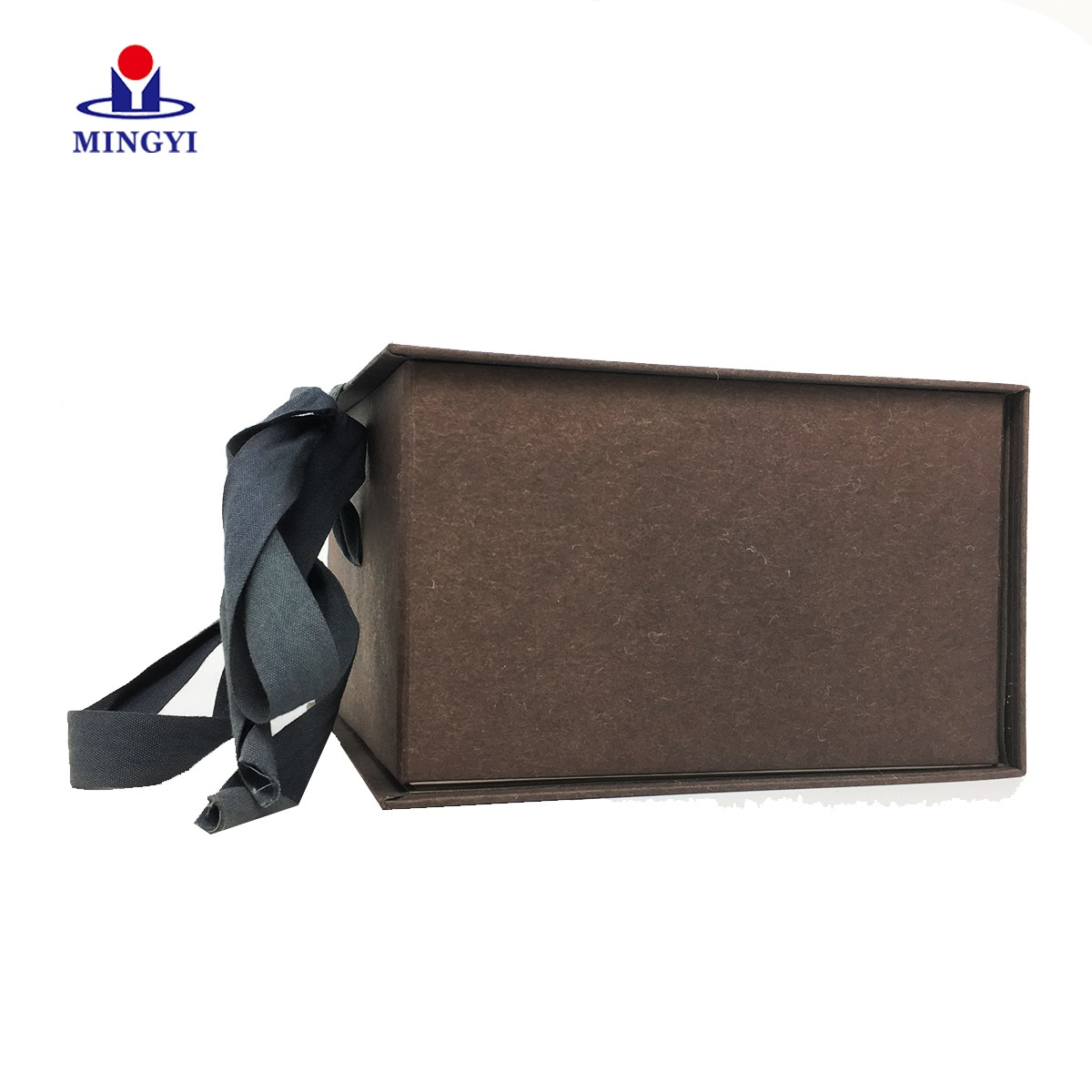 product-Clamshell chocolate gift packaging box with ribbon closure-Mingyi Printing-img