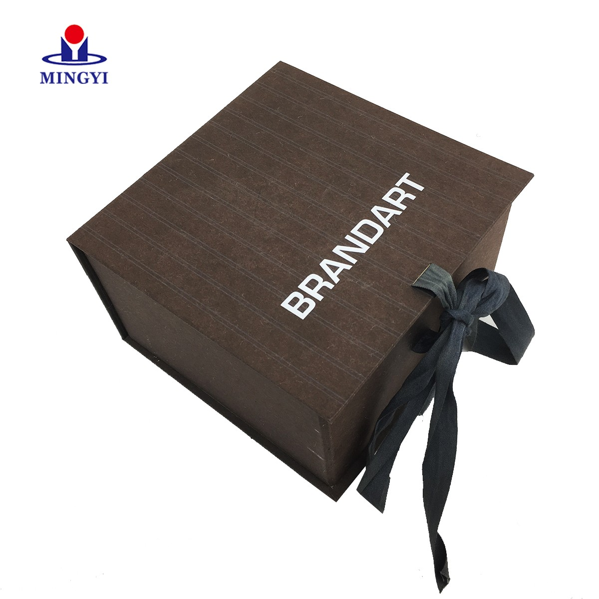product-Clamshell chocolate gift packaging box with ribbon closure-Mingyi Printing-img-1