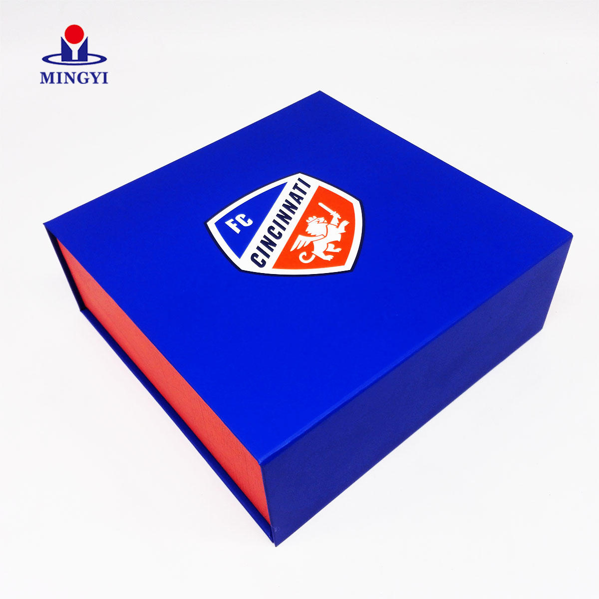 Luxury basketball clamshell souvenir packaging boxes customized logo