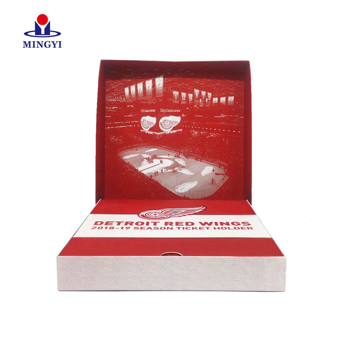 product-New design book shaped luxury clothes clam shell gift packaging box-Mingyi Printing-img