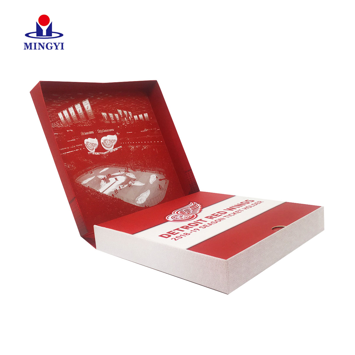 product-Mingyi Printing-New design book shaped luxury clothes clam shell gift packaging box-img