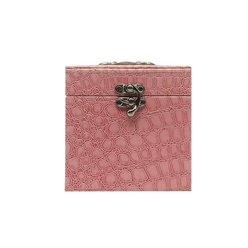 Luxury cosmetics packaging box with handle
