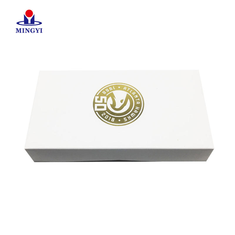 Luxury customized souvenir clam shell gift packaging box with logo