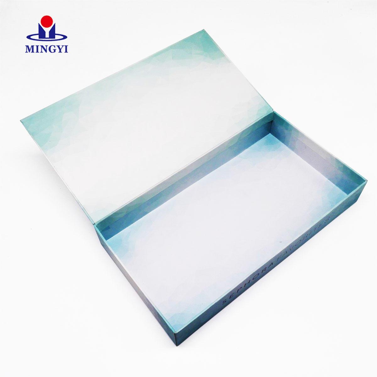 hard gift boxes folding for snacks Mingyi Printing