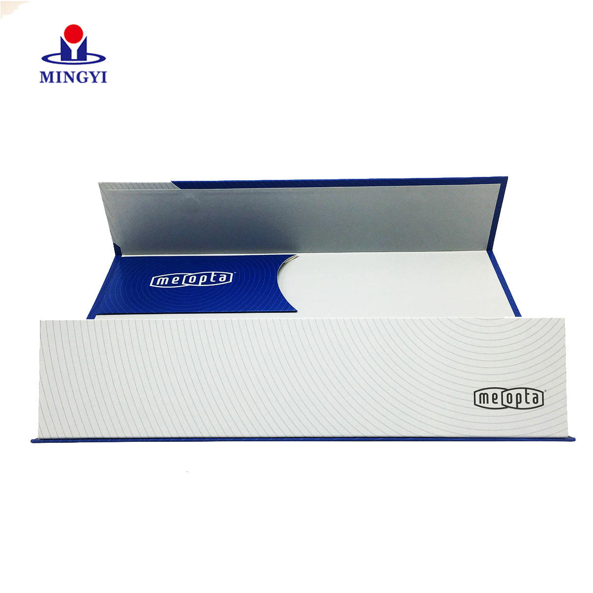 High quality structure rigid paper magnetic telescope packaging gift box