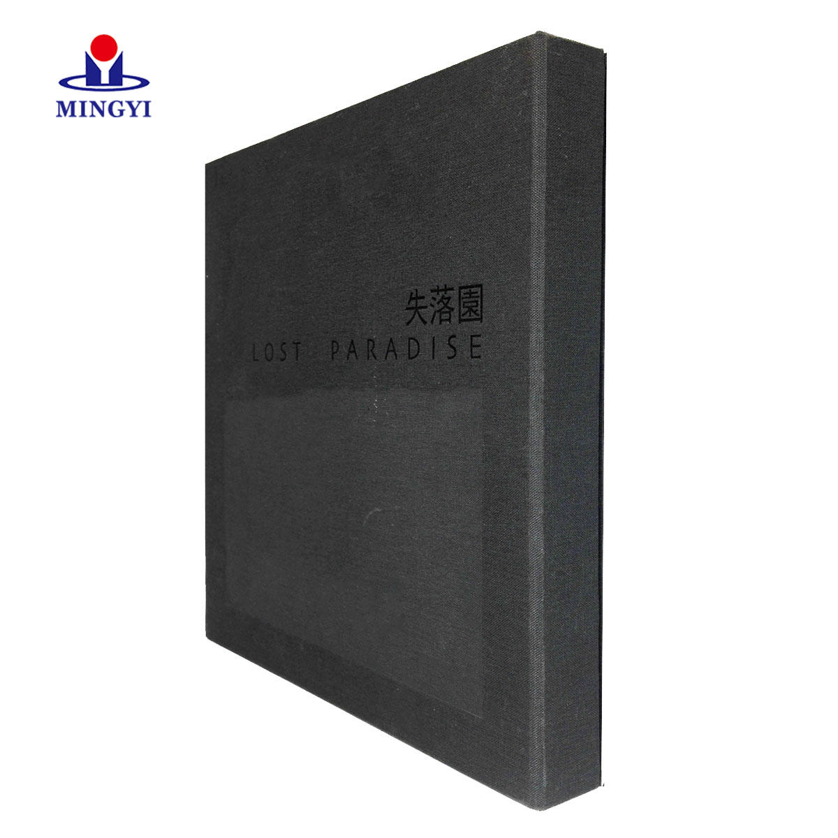 High quality Flat packaging photo book box with clothing