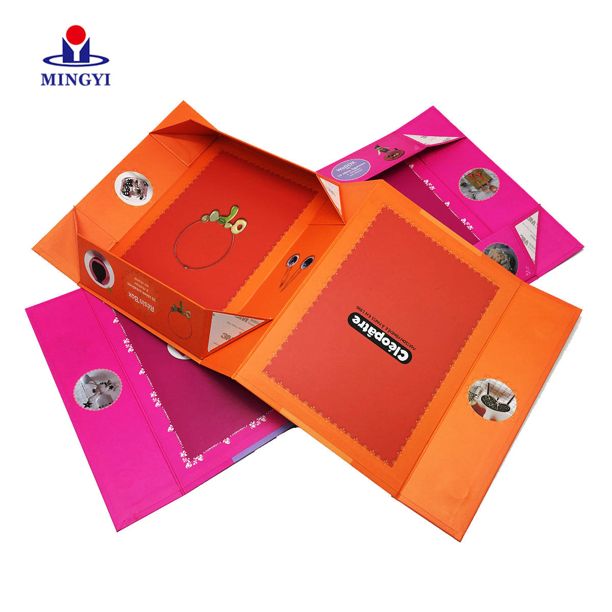 Custom rigid collapsible sex toy packaging boxes with high quality cmky printing customized inside material