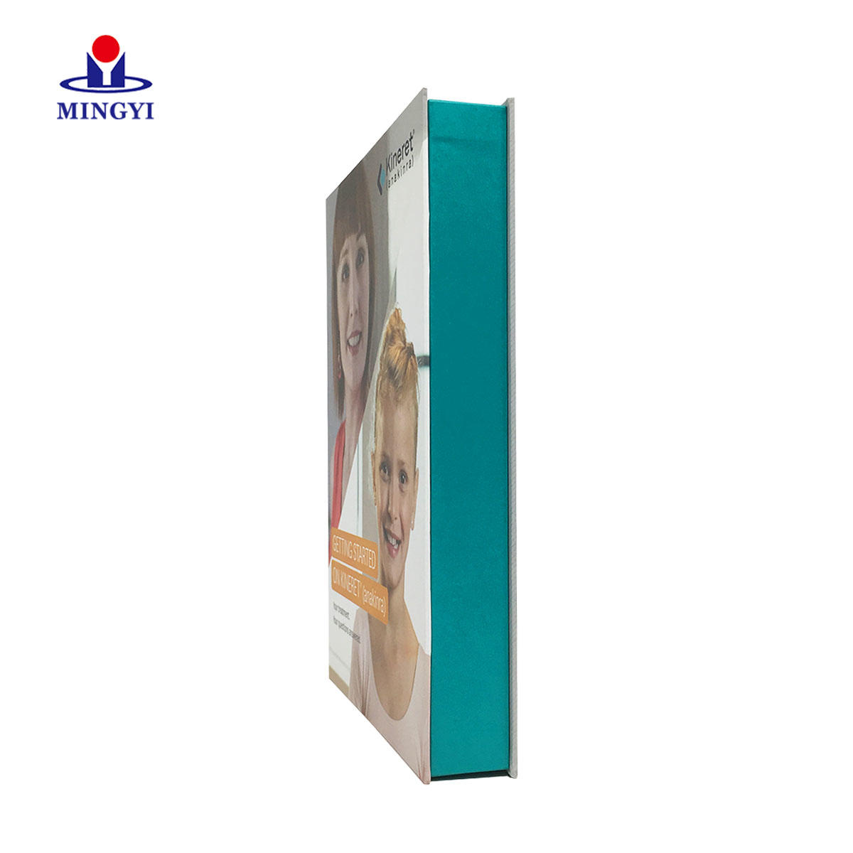 Custom high quality rigid envelope packaging with accurate cmyk and pantone color make in dongguan china