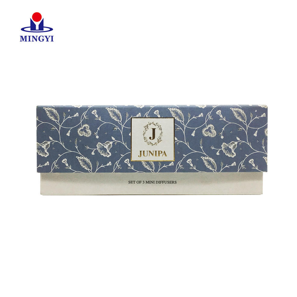 Supplier custom luxury fancy paper candle box