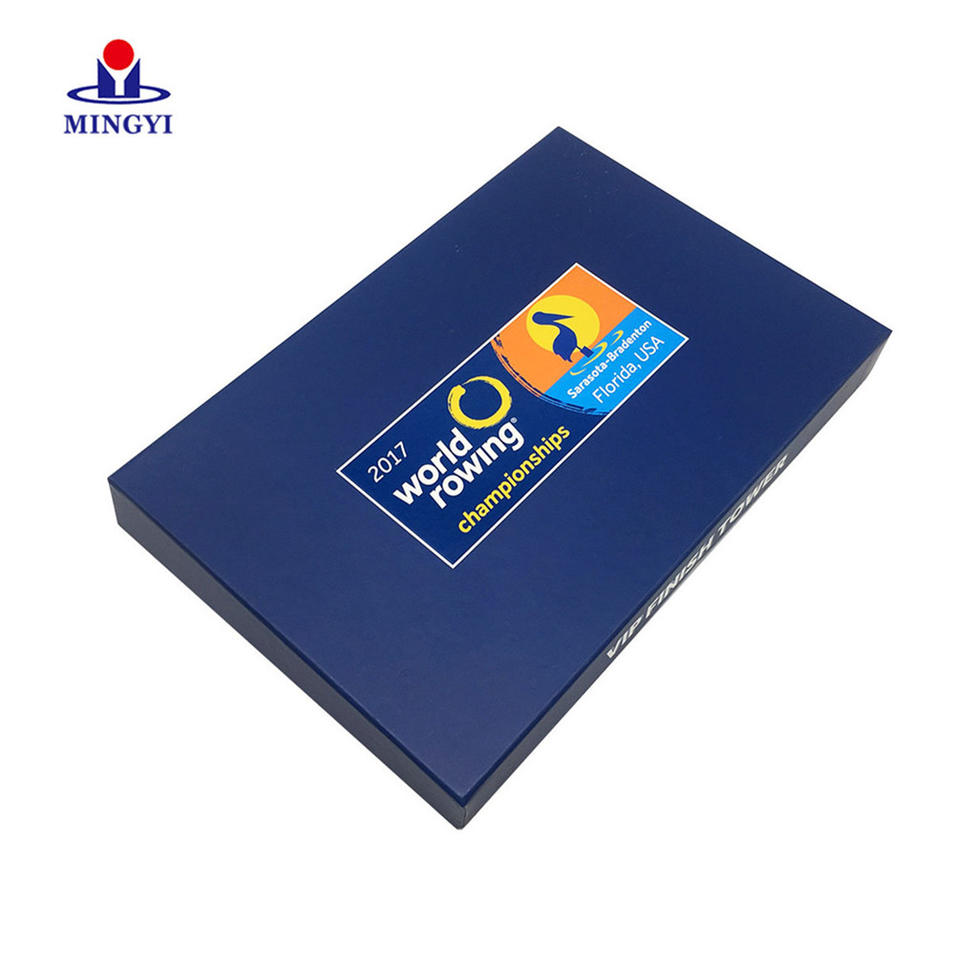 China supplier hand make paper flap magnetic folding box