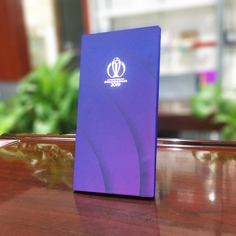 ECO-friendly high quality collapsible paper invitation ticket case