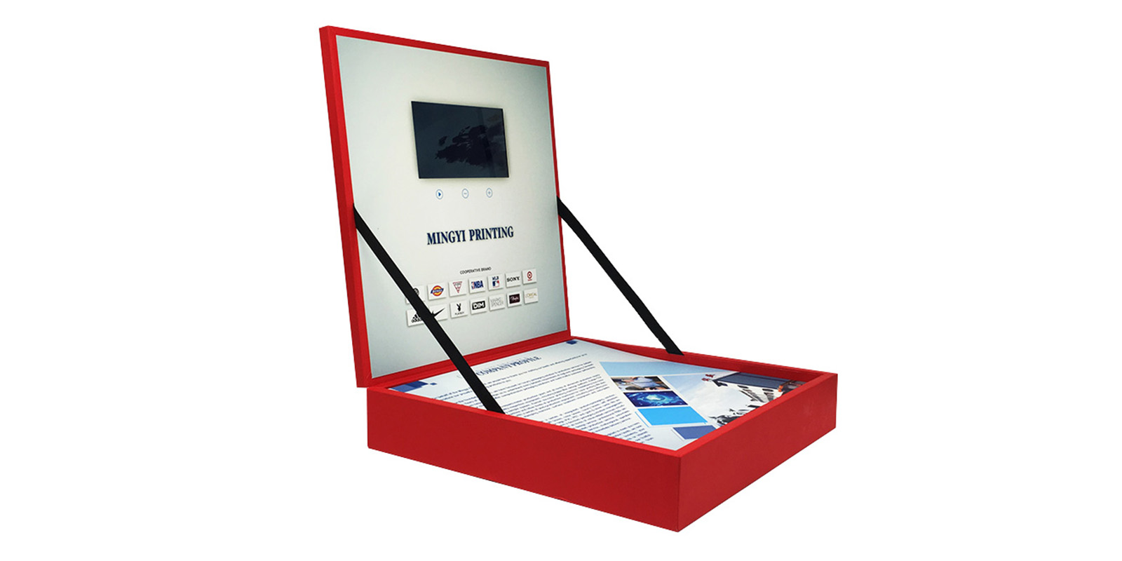 product-Souvenir gift box for vip client luxury LCD screen video play gift box-Mingyi Printing-img