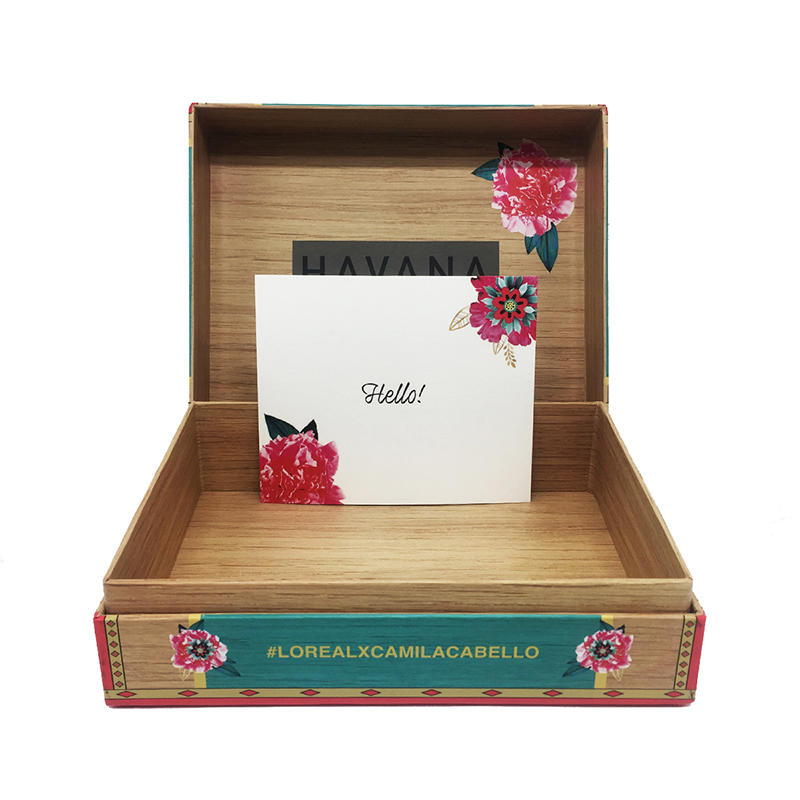 Wooden style packaging for cosmetics/luxury products