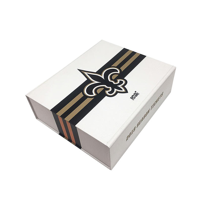 Custom rigid book shape gift packaging boxes for souvenir or clothing