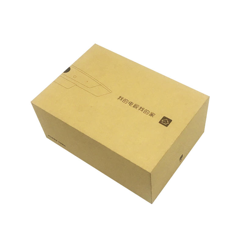 Eco-friendly recycle kraft paper digital packaging gift boxes with complex structure