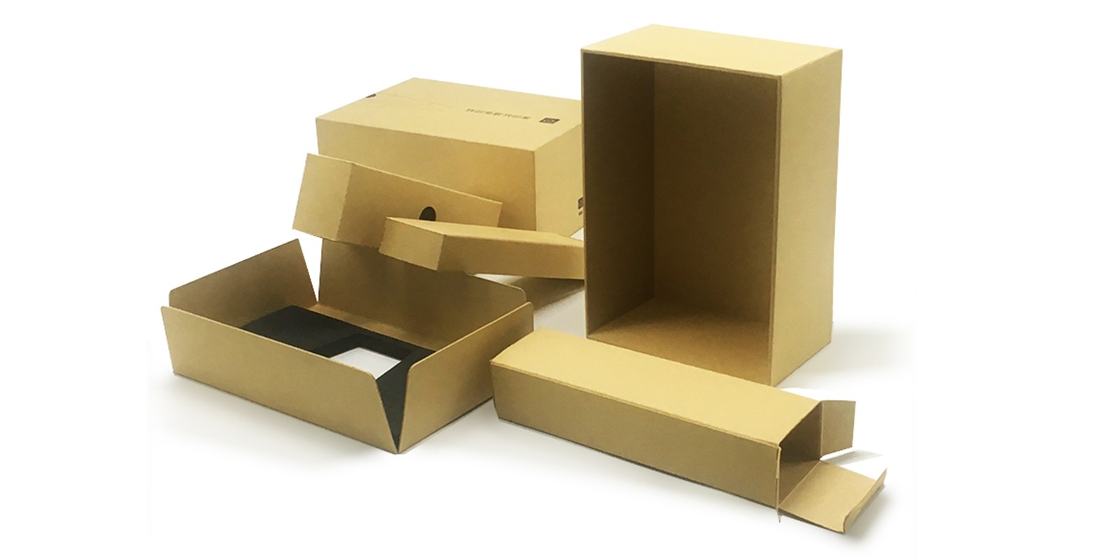 product-Mingyi Printing-Eco-friendly recycle kraft paper digital packaging gift boxes with complex s