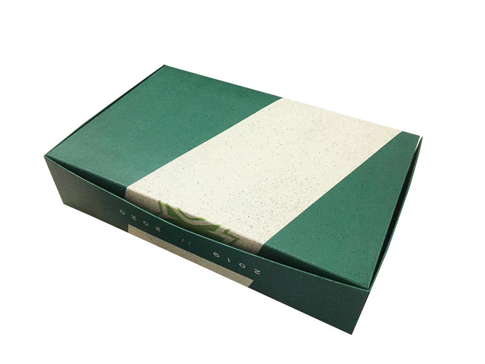 High quality professional surface clamshell souvenir packaging gift box with spot UV