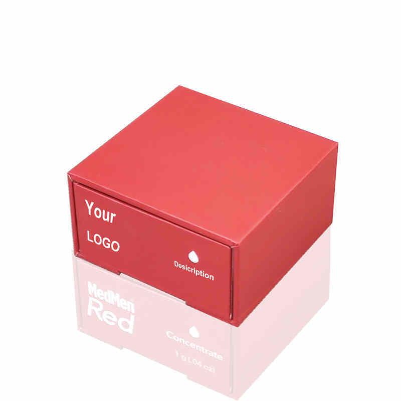 Custom Hot Sell Rigid drawer Structure Slide open Cbd THC Vape pen cartridge Packaging boxes