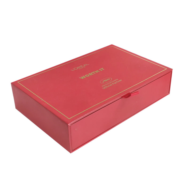 product-High quality luxury drawer packaging gift box for cosmetic With FSC certification-Mingyi Pri