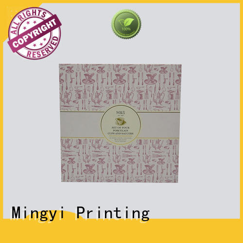 Mingyi Printing multifunctional coloured cardboard boxes with lids with good price for souvenir