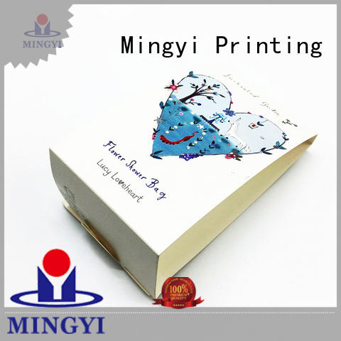 Mingyi Printing magnet custom packaging labels customization for snacks