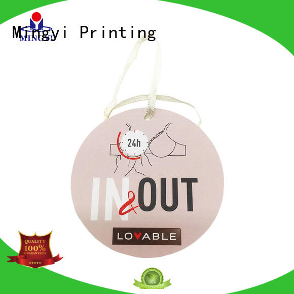 Mingyi Printing structure custom packaging labels factory price for Jewellery