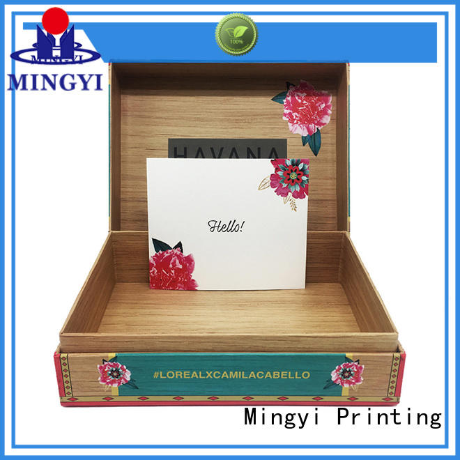 Mingyi Printing watch gift box manufacturers for snacks