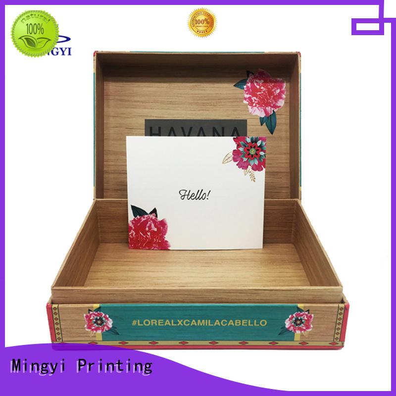 Mingyi Printing best-selling cardboard boxes for sale clam for Jewellery