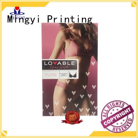Mingyi Printing cardboard box price factory for snacks