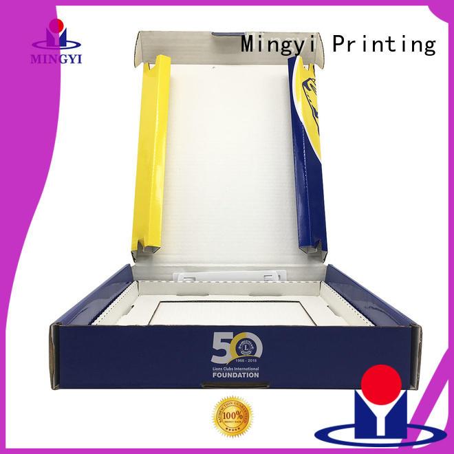 commodity Custom pet custom size cardboard boxes alcohol Mingyi Printing