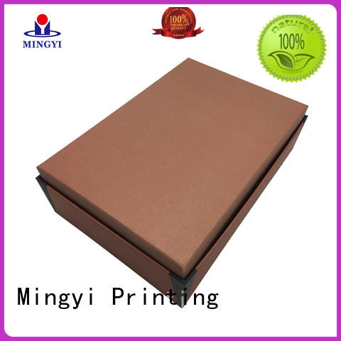 Mingyi Printing Latest cardboard packing boxes for business for present