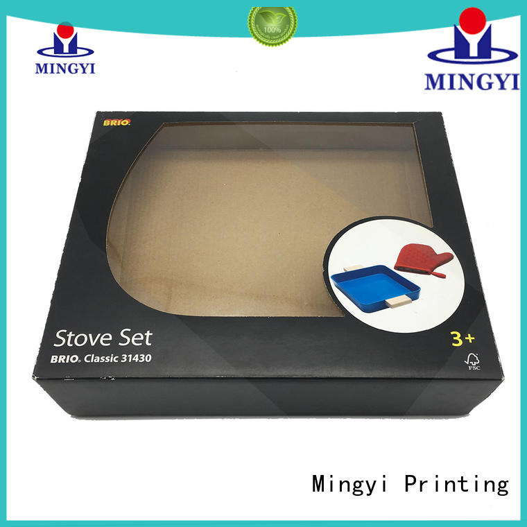 cloth carton box price packaging for present Mingyi Printing