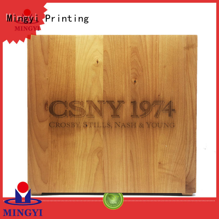 hard gift boxes window luxury Mingyi Printing Brand