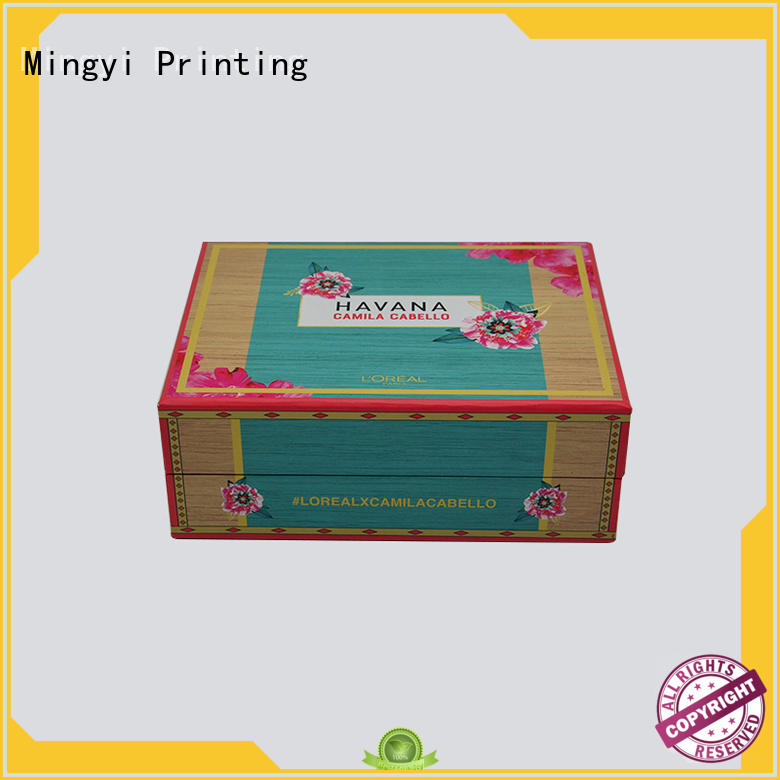 Mingyi Printing Brand eva superior hard gift boxes cosmetics